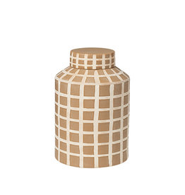 broste copenhagen Deco Jar Yellow