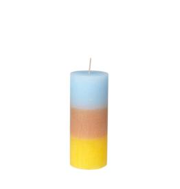 broste copenhagen Pillar candle rainbow pineapple