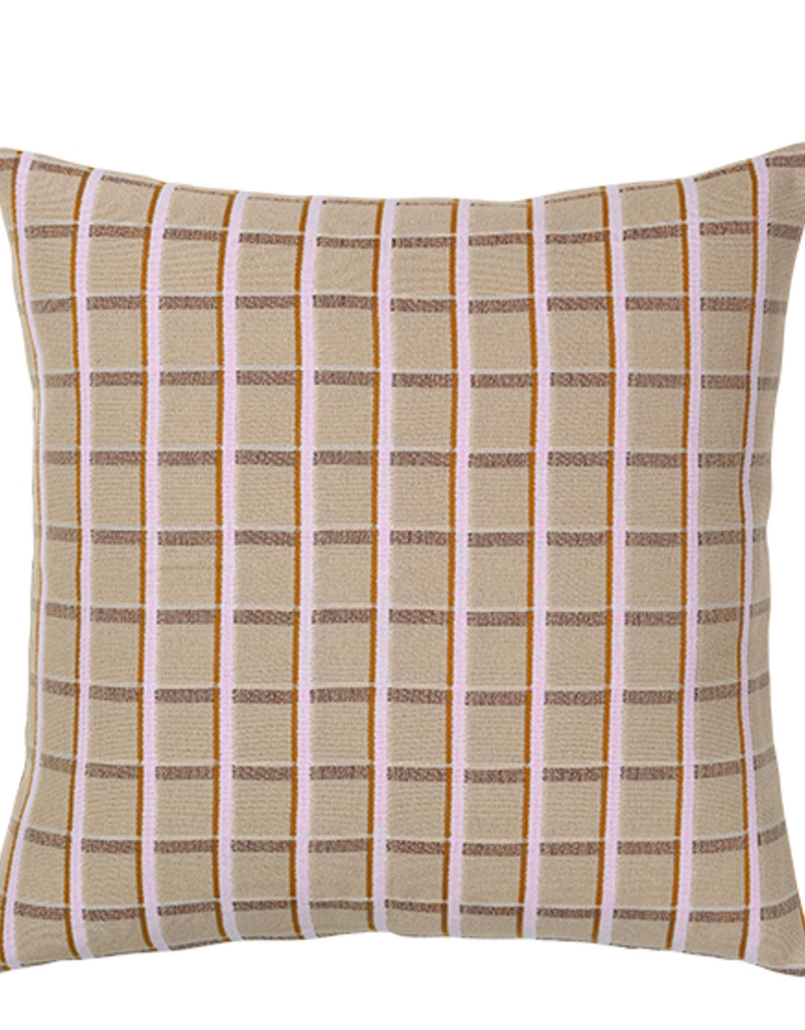broste copenhagen Broste Cushion Cover Zappa Cotton Purple 60cmx60cm