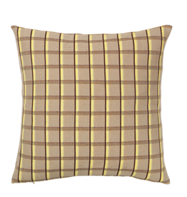 broste copenhagen Broste Cushion Cover Zappa Cotton Yellow 60cmx60cm