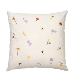 broste copenhagen Broste Cushion Cover Flora Cotton 50x50cm