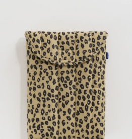 Baggu Puffy laptop sleeve 13 INCH Honey Leopard
