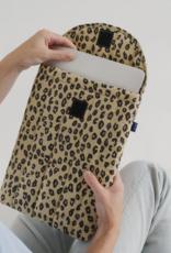 Baggu Puffy laptop sleeve 13 INCH Honey Leopard