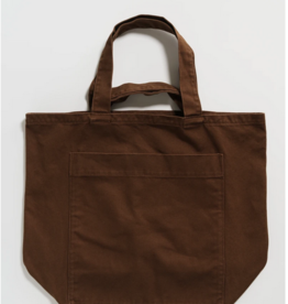 Baggu Giant pocket tote washed brown
