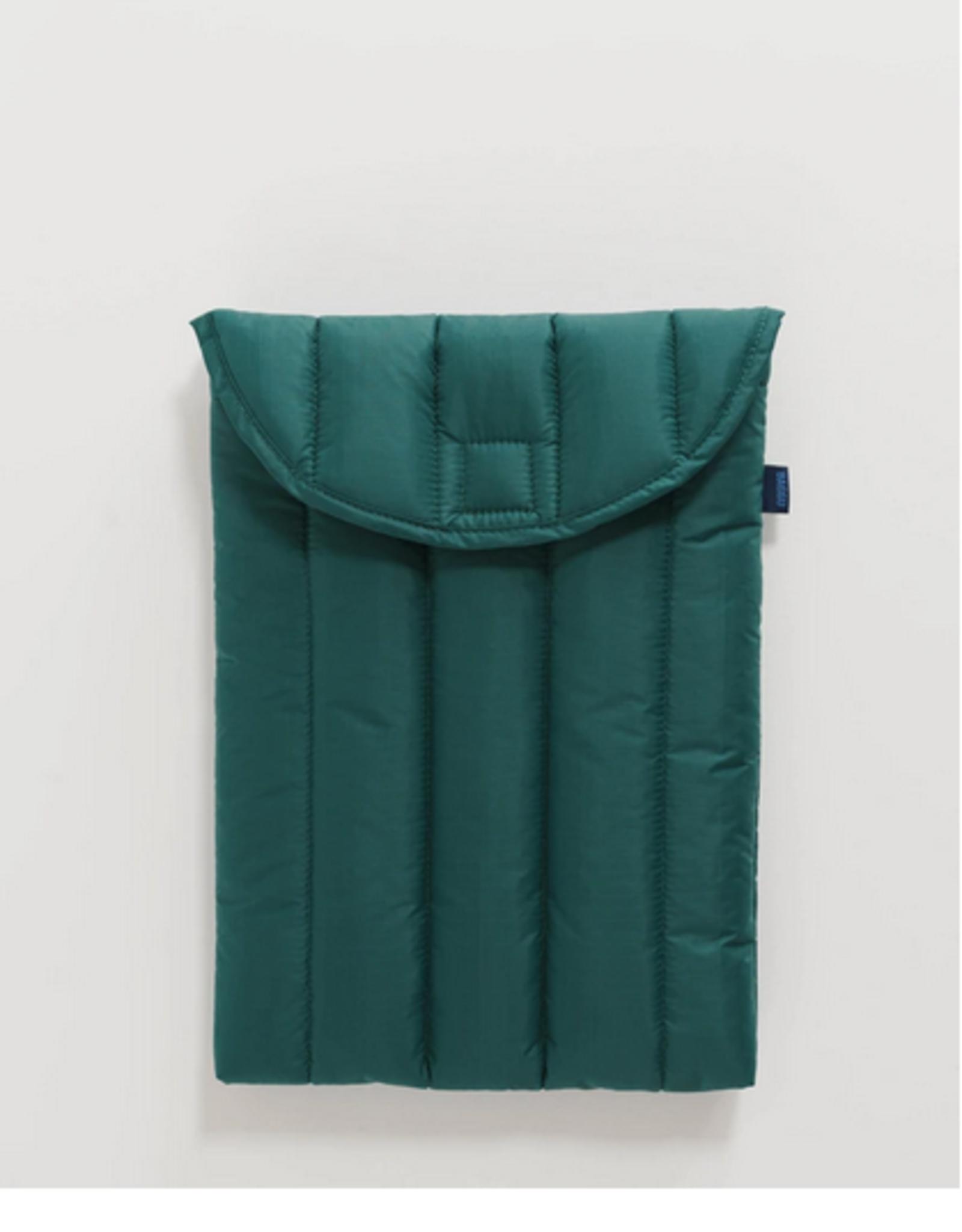 Baggu Puffy laptop sleeve Malachite 13 Inch