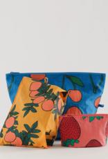 Baggu Go Pouch Backyard fruit