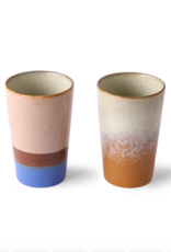 HK Living 70's tea mugs N