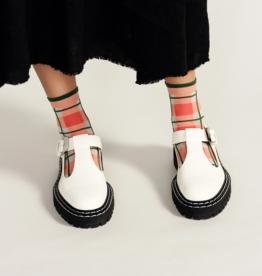 hansel from basel Sophia Pink Socks