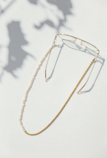 Coco Bonito Assymetric chain and pearls sunnycord