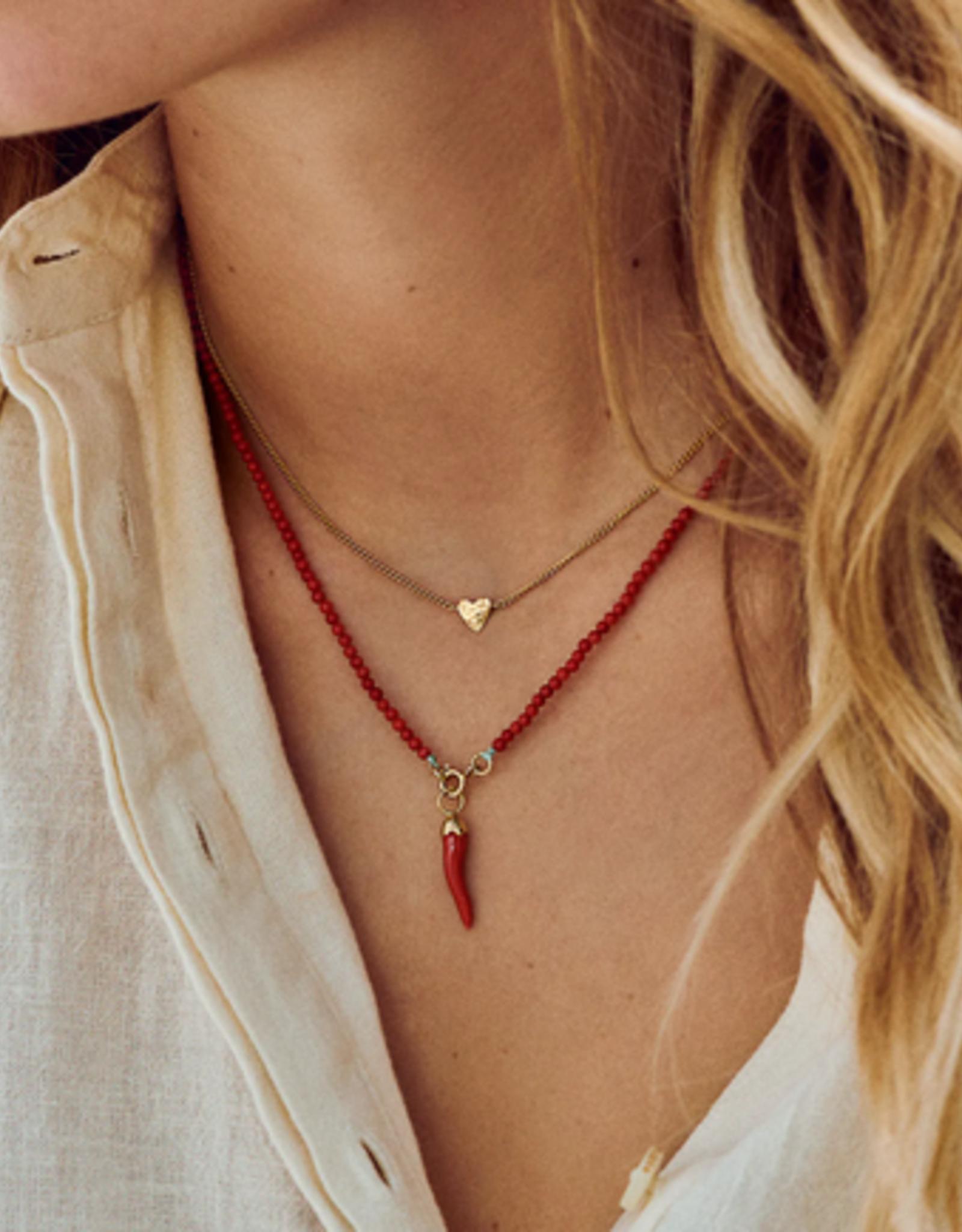Anna + Nina Te quiero Necklace silver
