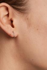 PD Paola Light bird silver earrings