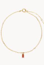 PD Paola Cherry asana gold bracelet