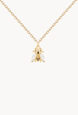 PD Paola Buzz gold necklace