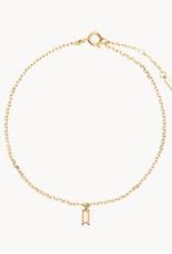 PD Paola Peach asana bracelet silver goldplated