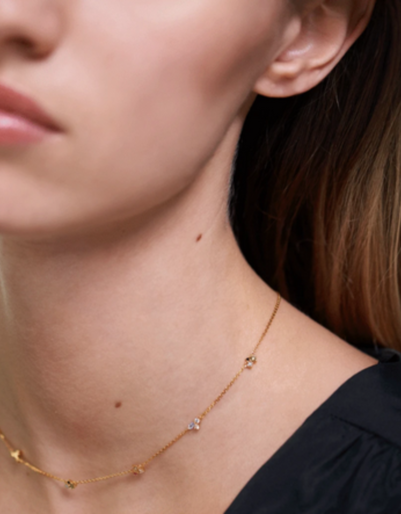 PD Paola La Palette necklace gold