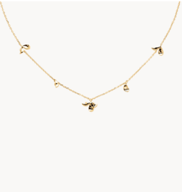 PD Paola Jasmine necklace gold