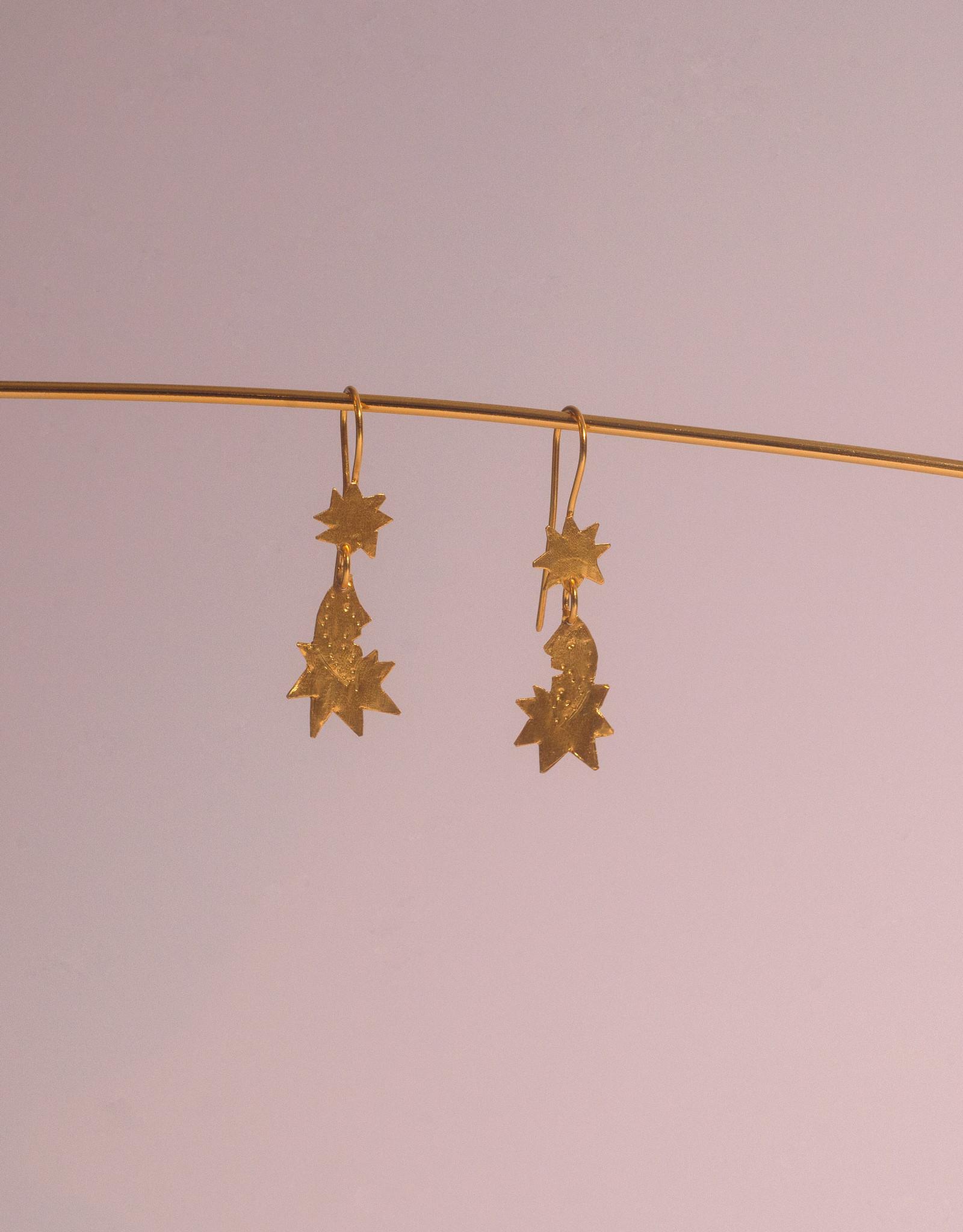 Après Ski Lune earrings