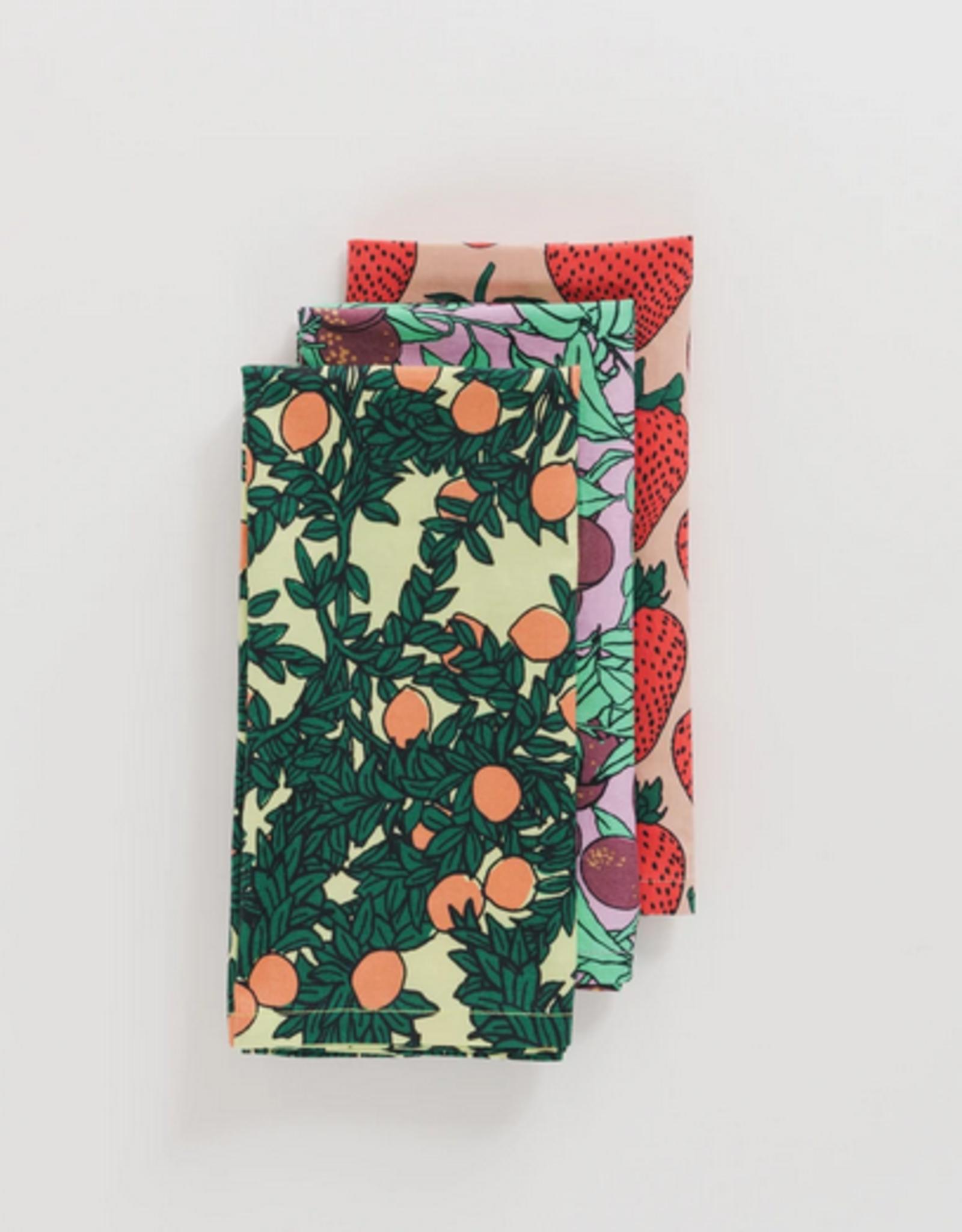 Baggu Reusable Cloth Set backyard fruit