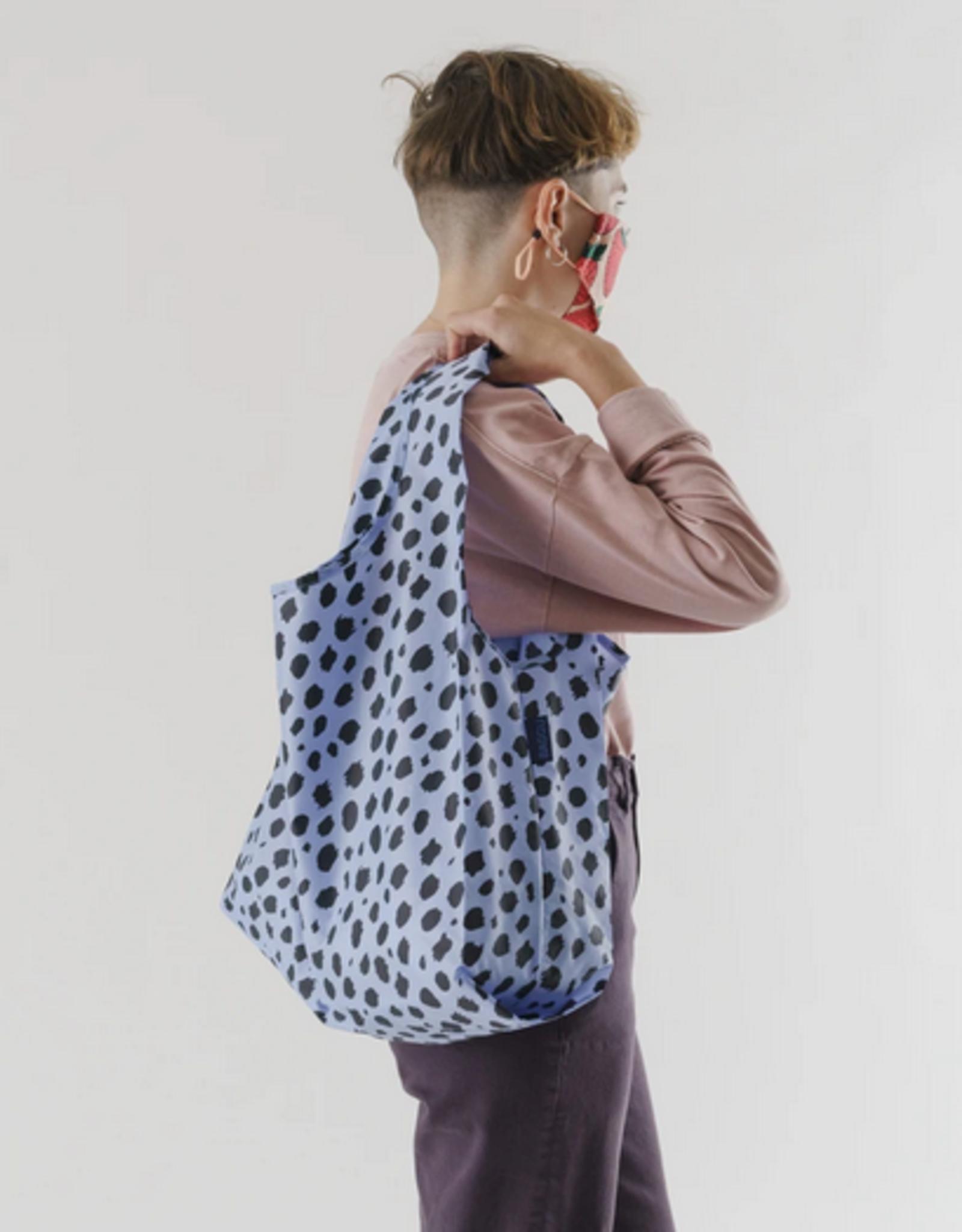 Baggu Standard reusable bag blue cheetah