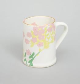 Bernadette Bernadette wide mug romantic cream