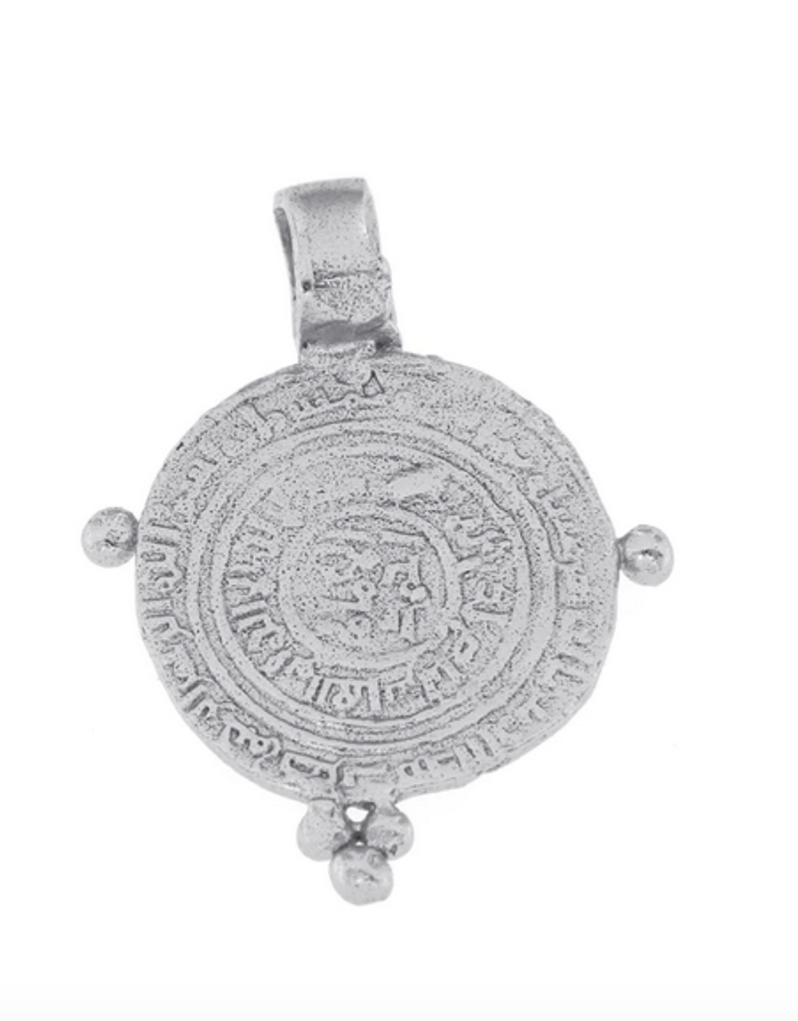 Cleopatra's Bling Gauri Pendant silver necklace