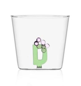 Ichendorf Glass Alphabet D