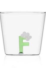 Ichendorf Glass alphabet F