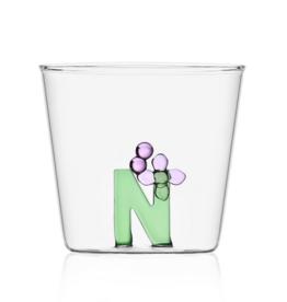 Ichendorf Glass Alphabet N