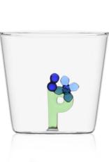 Ichendorf Glass Alphabet P