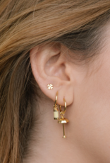 Wildthings Collectables Sunny drop earring gold