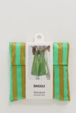Baggu Standard reusable bag Lawn stripe