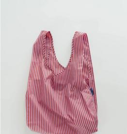 Baggu Standard Reusable bag cerise stripe