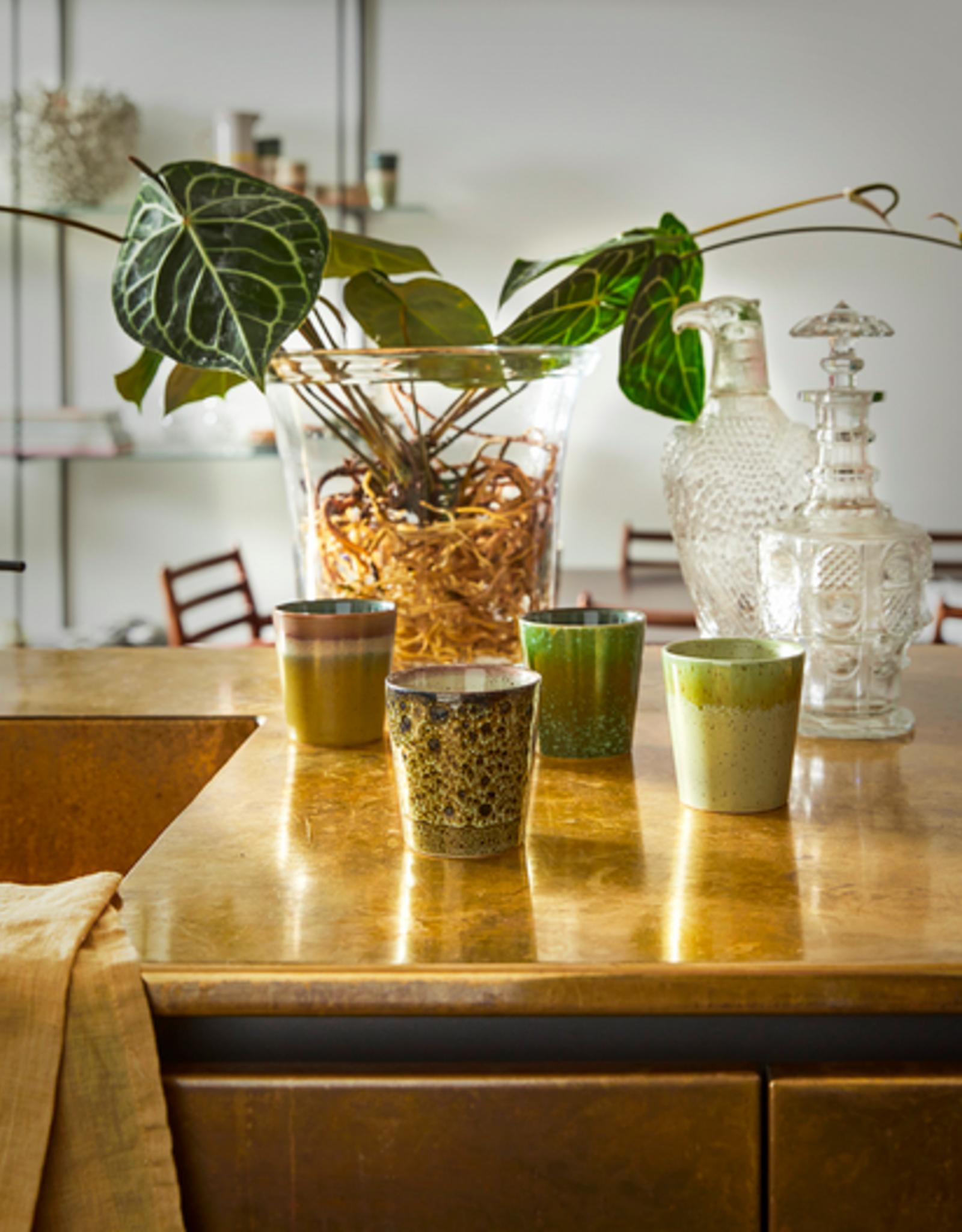 HK Living Coffee mugs spring green (set of 4)