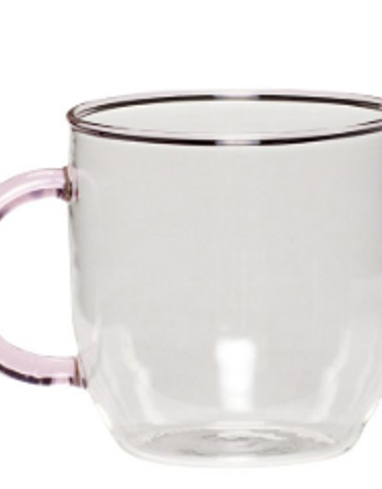 Hübsch Coffee glass pink