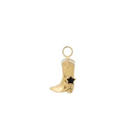 Anna + Nina Cowboy boot earring Charm Goldplated