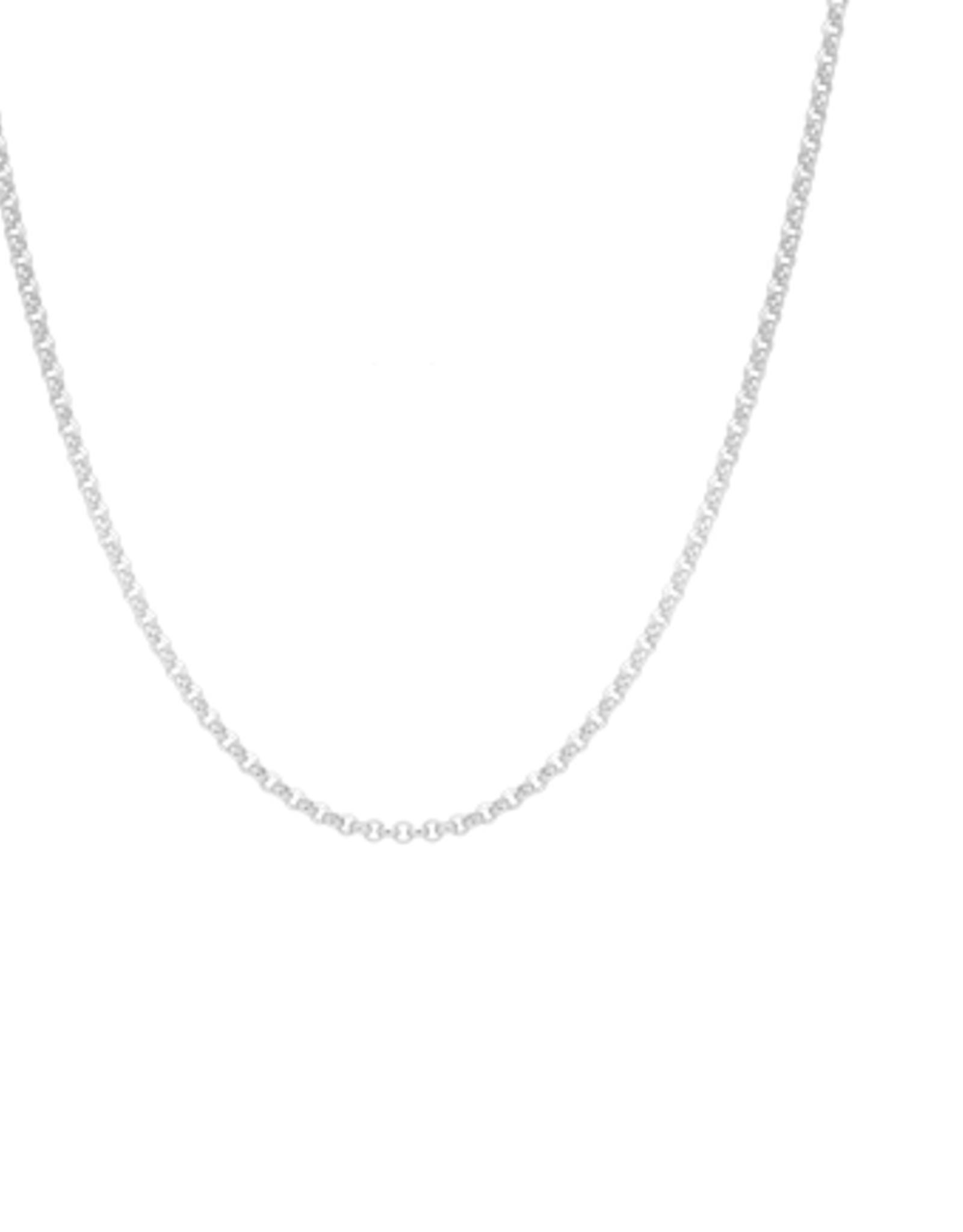 Anna + Nina Jasseron necklace silver