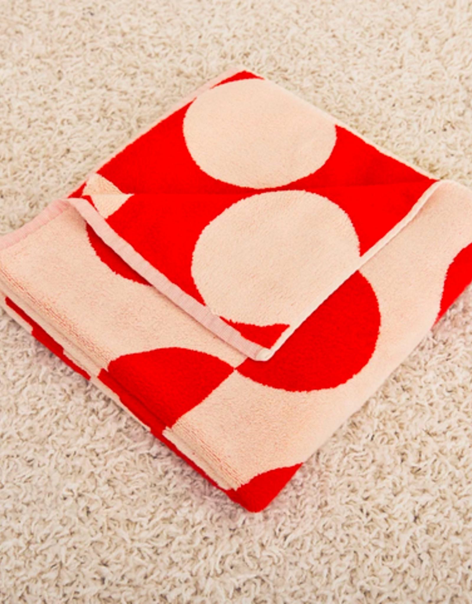 Dusen dusen Dusen Dusen Dot bath towel