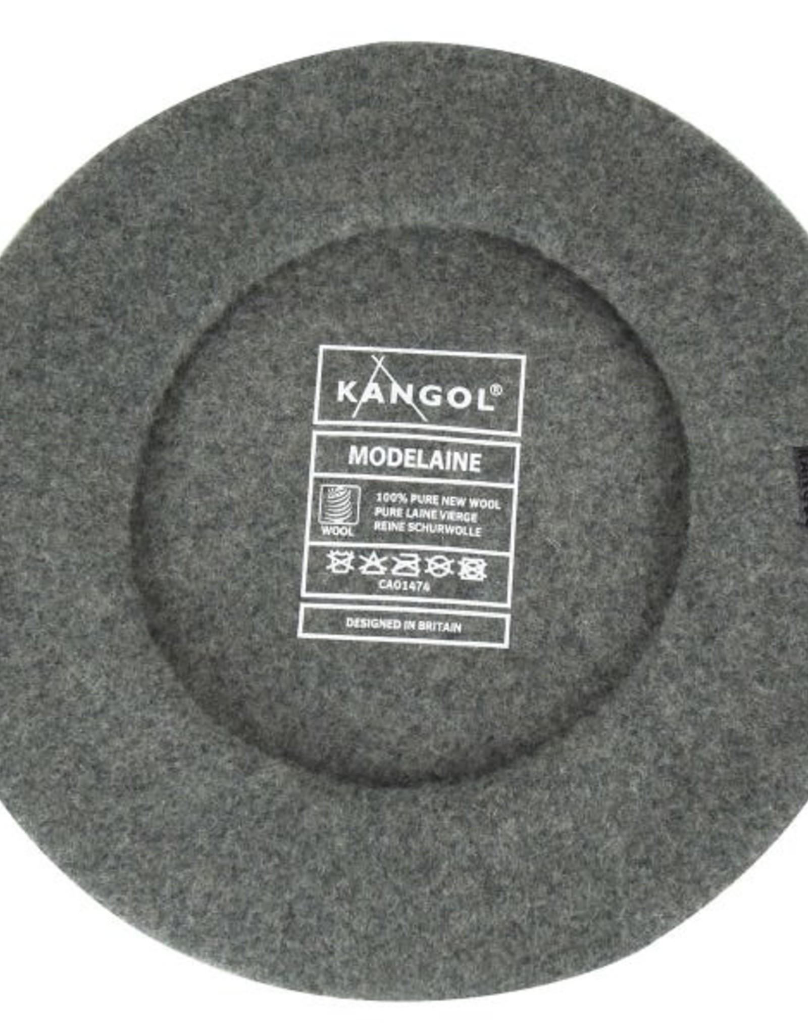 kangol Modelaine beret flannel