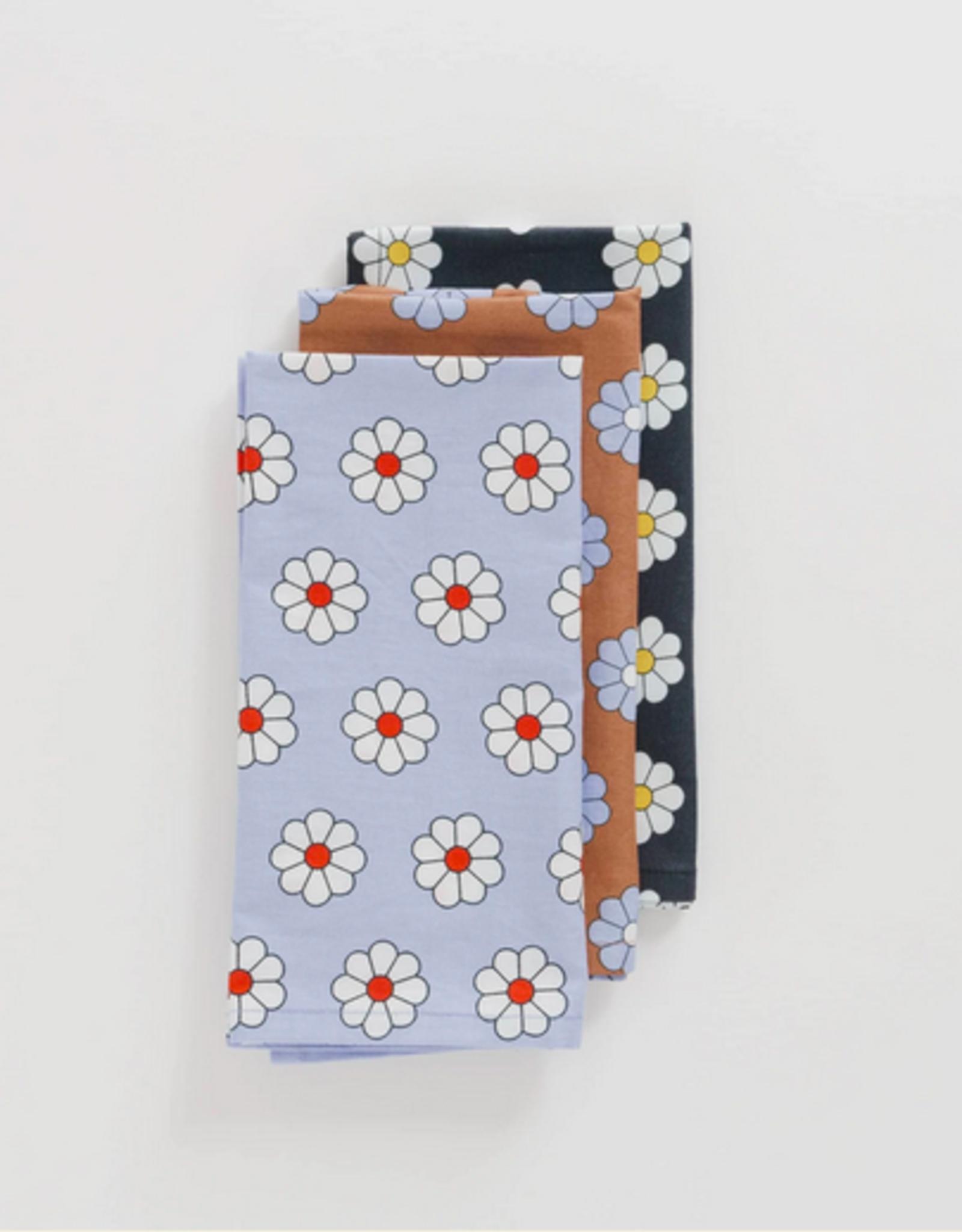Baggu Reusable cloth set daisy
