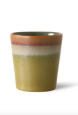 HK Living 70's coffee mug peat