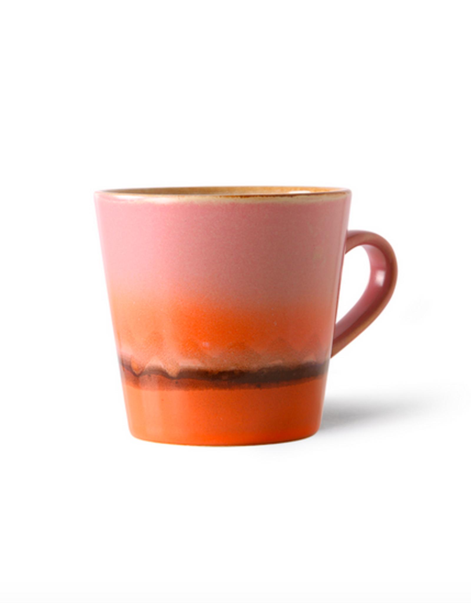 HK Living 70's americano mug mars