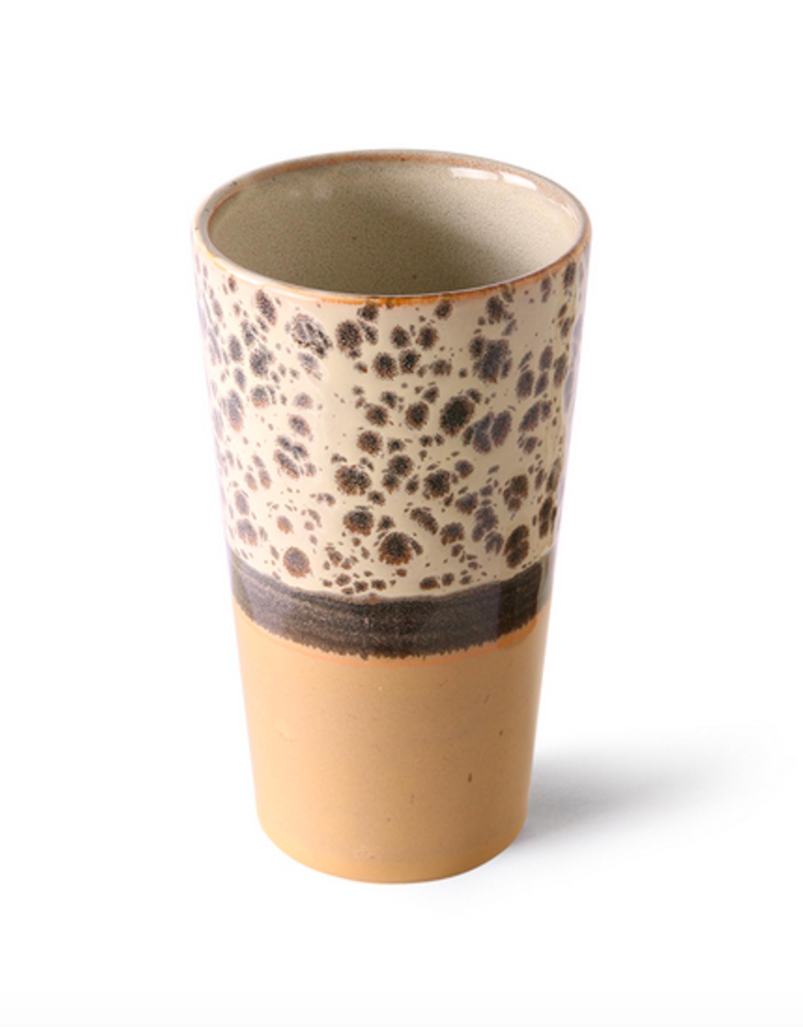 HK Living 70's Latte mug tropical