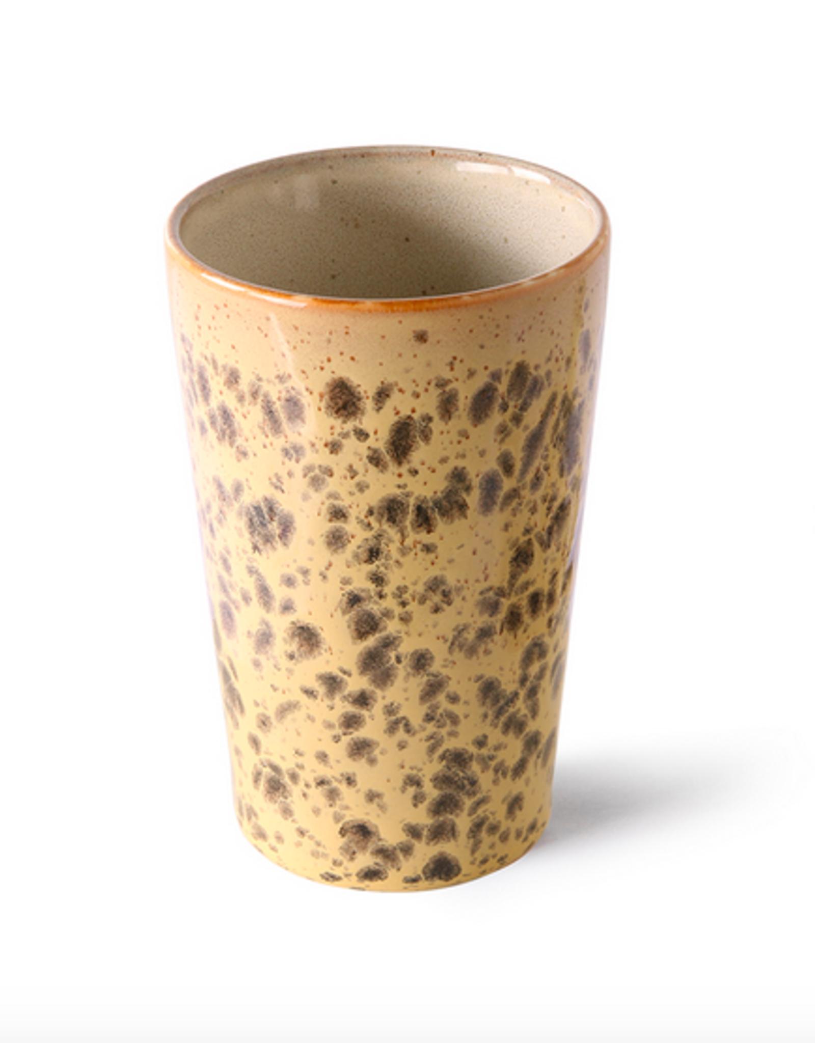 HK Living 70's tea mug tiger