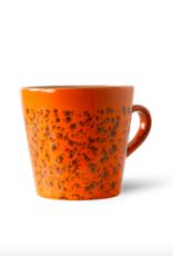 HK Living 70's americano mug magma