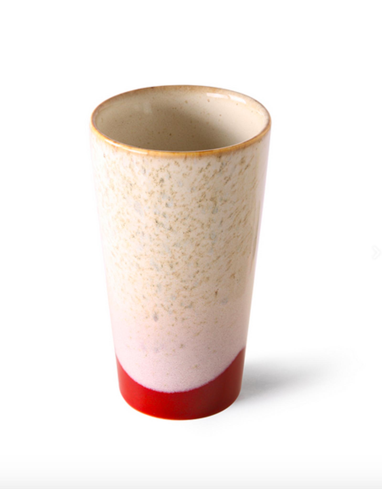 HK Living 70's latte mug frost