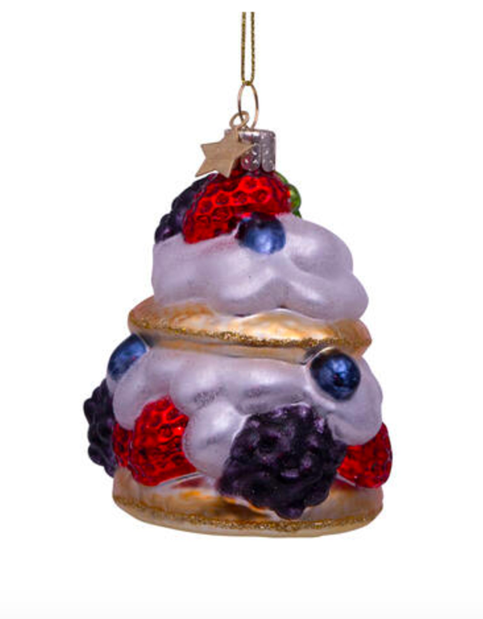 Vondels Cake cream christmas ornament