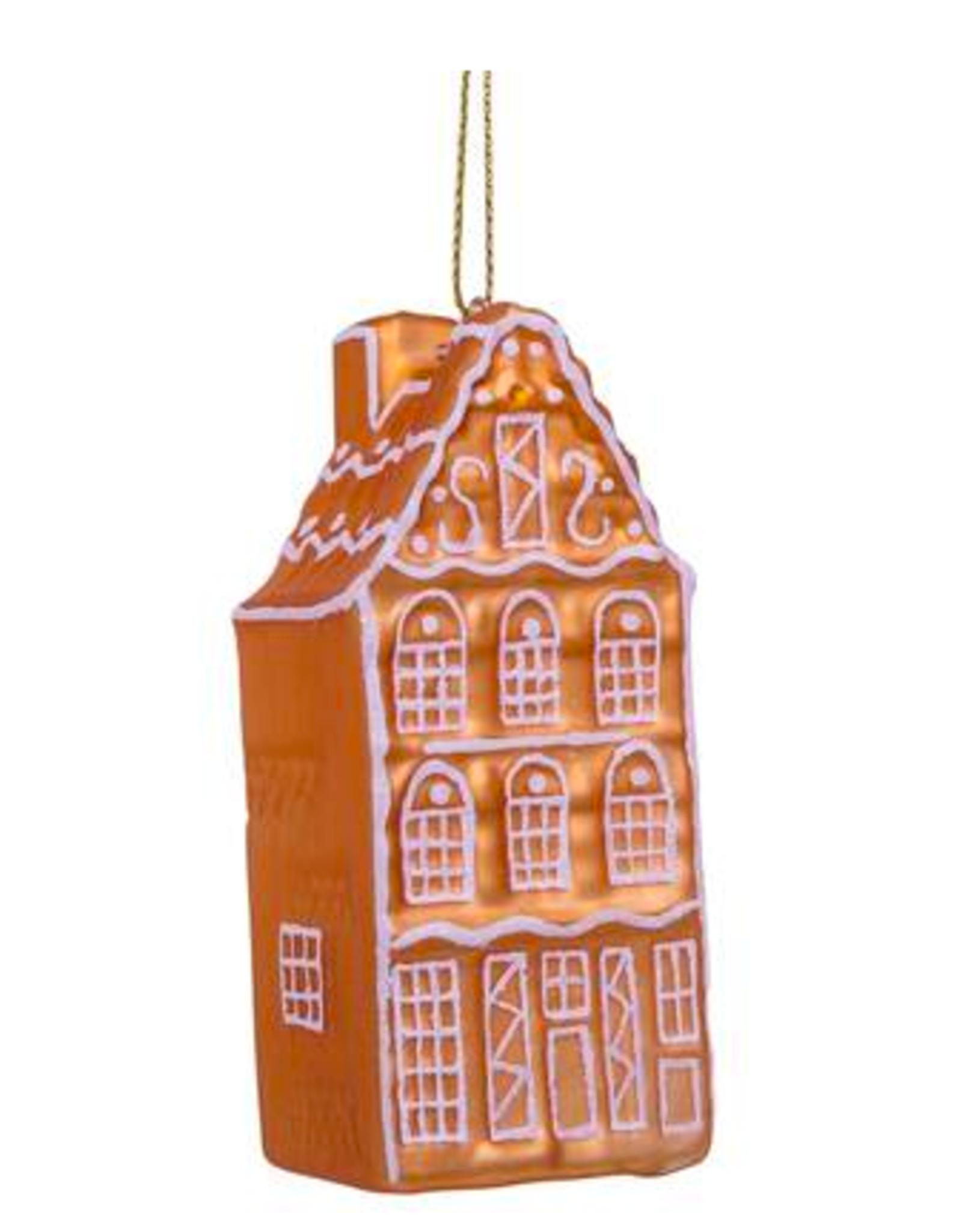 Vondels Ginger bread house christmas ornament