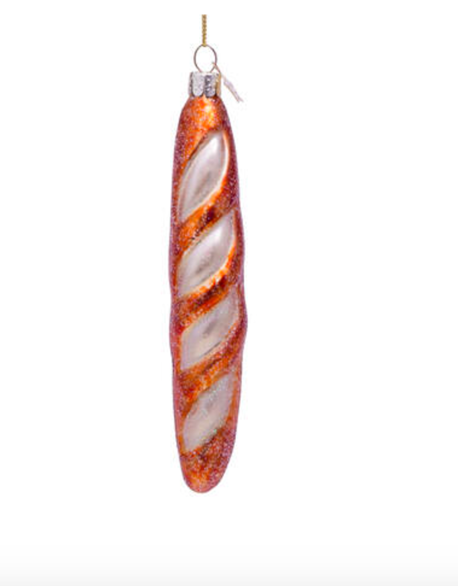 Vondels French baguette christmas ornament