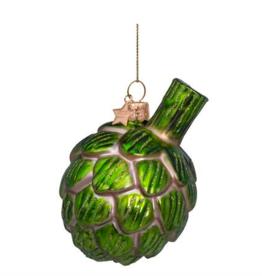 Vondels Artichoke christmas ornament