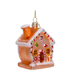 Vondels Gingerbread multi christmas ornament